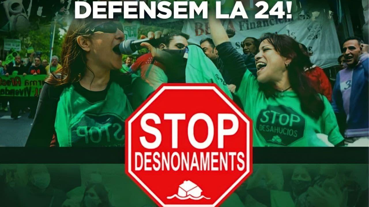 Exigim al futur Parlament de Catalunya una nova Llei d'habitatge que recuperi les mesures antidesnonaments anul·lades!