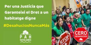 Read more about the article Aturem juntes la corba dels desnonaments!