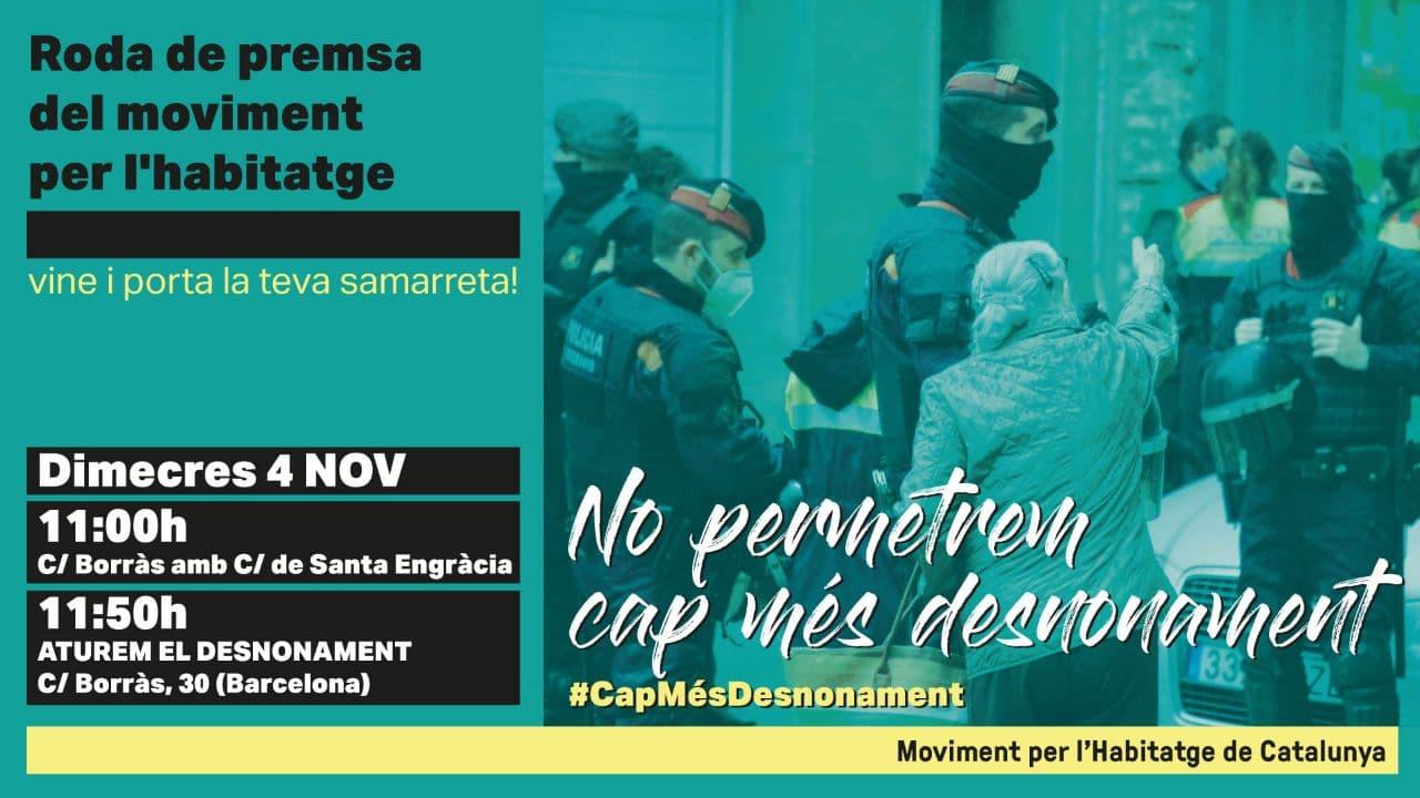 You are currently viewing CAP MÉS DESNONAMENT
