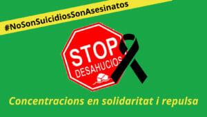 No són suïcidis, són assassinats!