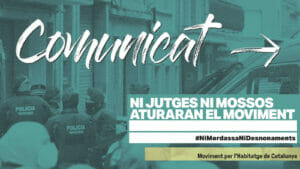Read more about the article Ni jutjes ni mossos aturaran el moviment